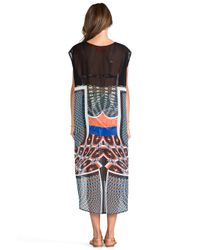 Clover Canyon | Cuban Tile Coverup in Black | Lyst