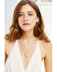 Urban Outfitters - Metallic Corky Charm Necklace - Lyst