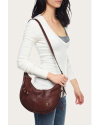 Frye | Purple Belle Bohemian Crossbody | Lyst