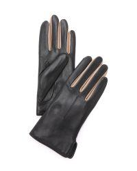 Rag & Bone - Black Stella Gloves - Navy - Lyst