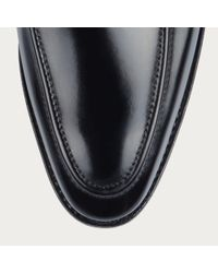 Bally Score Men's Leather Loafer In Black for men
