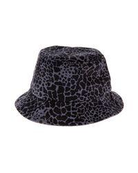 e3bca3b3f97 Lyst - Huf The Shell Shock Camo Bucket Hat in Black for Men