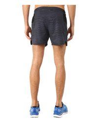 "Brooks - Black Sherpa 5"" Shorts for Men - Lyst"