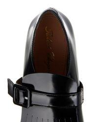Robert Clergerie Black Landa Wedge Loafers