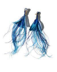Mignonne Gavigan Blue Blake Earrings Navy