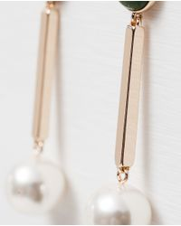 Zara | Black Long Earrings | Lyst