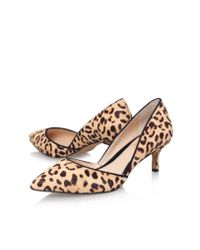 Vince Camuto | Brown Premell Low Heel Court Shoes2 | Lyst