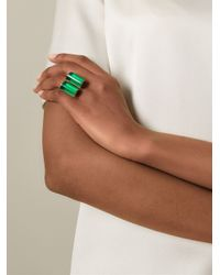 Wouters & Hendrix | Green Cylinder Ring | Lyst