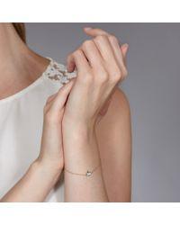 Hillier Metallic Pretty Pave Bunny Bracelet