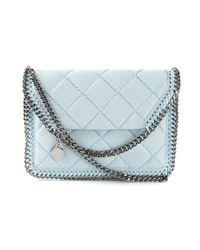 Stella McCartney Blue Falabella Faux-Leather Cross-Body Bag