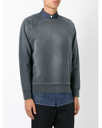 Our Legacy - Gray Crew Neck Sweatshirt for Men - Lyst