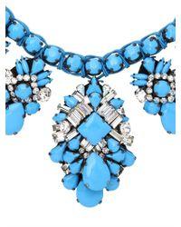 Shourouk - Blue Holy Brandeis Necklace - Lyst