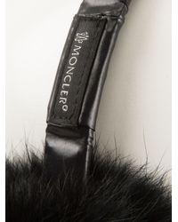 Moncler | Black Ear Muffs | Lyst
