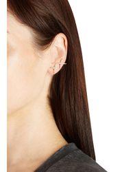 Elizabeth and James Metallic Vida 22Kt Gold-Plated Ear Cuffs