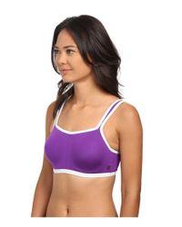 Natori | Purple Yogi Convertible Underwire Sports Bra 731050 | Lyst