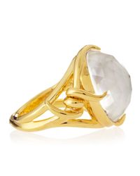 Stephen Webster | Yellow 14k Vermeil Forget-me-knot Barb Ring | Lyst