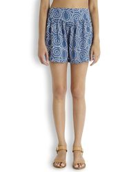 Cool Change Blue Cercle Surf Navy Printed Shorts