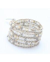 Nakamol | Multicolor Ellora Wrap Bracelet-white Mix | Lyst