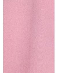 & Other Stories Pink Straight Fit Silk Shirt