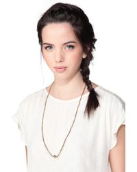 Room Service - Yellow Necklace / Longcollar - Lyst