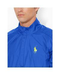 Ralph Lauren - Blue Short-sleeve Windbreaker for Men - Lyst