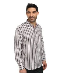 Robert Graham | Red Arched Rock Long Sleeve Woven Shirt for Men | Lyst