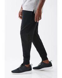 Forever 21 | Black Paneled Drawstring Sweatpants for Men | Lyst