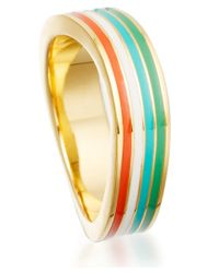 Astley Clarke - Metallic Small Gold Vermeil Surfing Safari Wave Ring - Lyst