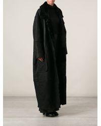 A.F.Vandevorst Black 'Myth' Long Coat