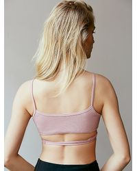 Free People - Pink Cecilia Wrap - Lyst