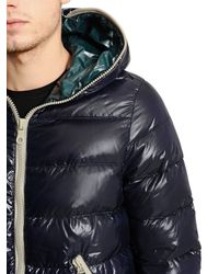Duvetica Blue Dionisio Nylon Down Jacket for men