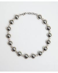 Gurhan - Metallic Silver and Gold Tulip Necklace - Lyst