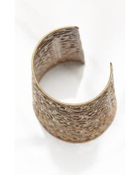 Natalie B. Jewelry | Metallic Protector Cuff | Lyst