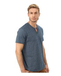 Alternative Apparel - Blue Eco Mock Twist Jersey Pathway T-shirt for Men - Lyst