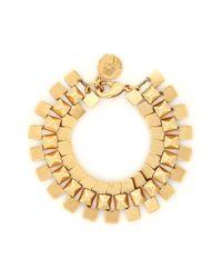 Ela Stone | Metallic Gwen Pyramid Chain Bracelet | Lyst