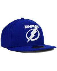 KTZ - Blue Tampa Bay Lightning C-Dub 59Fifty Cap for Men - Lyst