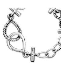 Shaun Leane Metallic Silver Gypsy Moth Bracelet