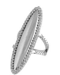 House of Harlow 1960 | Metallic Geodesic Cocktail Ring | Lyst
