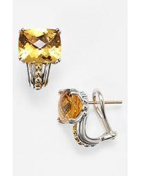 Lagos - Metallic Stud Earrings - Lyst
