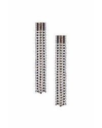 TOPSHOP | Multicolor Rhinestone Drop Earrings | Lyst
