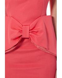Coast Orange Glamour Bow Dress.