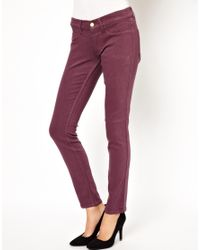 M.i.h Jeans | Purple Vienna Skinny Jean in Violet | Lyst