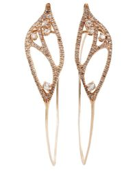 Federica Rettore | Metallic Hoop Earrings | Lyst