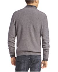 BOSS Orange - Gray New-wool Sweater 'acesto' for Men - Lyst