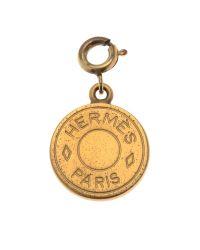 Hermès - Metallic HermãˆS Gold Pendant - Lyst