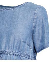 H&M Blue Mama Lyocell Dress