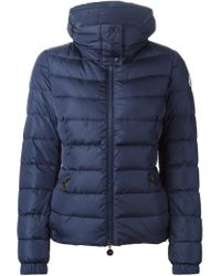 Moncler - Blue 'Sanglier' Padded Jacket - Lyst