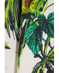 Proenza Schouler | Green Printed Wool-blend Sweater | Lyst