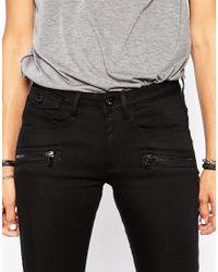 G-Star RAW - Black Plus Sudden Straight Jeans - Lyst