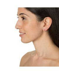 Lulu Frost | Metallic Code 14k Gold Stud Earring, Assorted Numbers 0-9 | Lyst